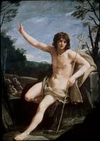 Saint John The Baptist In The Wilderness by Guido