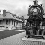 Vestige of old train station, Kingston, Ontario mo