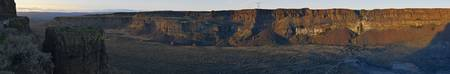 Frenchman Coulee Sunset Panorama