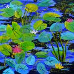 """waterlilies 8861"" by pol"