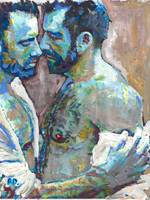 Welcome Home Masculine Gay Erotic Art