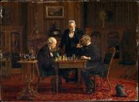 The Chess Players , Thomas Eakins