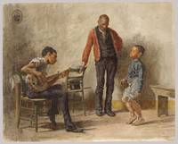 The Dancing Lesson. Negro Boy Dancing by Thomas Ea
