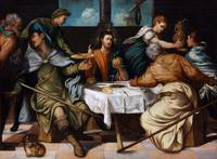 The Supper At Emmaus by Tintoretto