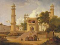 Thomas Daniell - Indian Temple, Said to Be the Mos