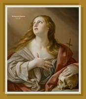 The repentant magdalene by Guido Reni