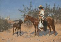 THE SENTINEL BY FREDERIC REMINGTON