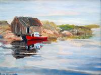 Peggy's Cove Miniature