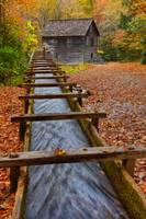 Mingus Mill on a Fall Afternoon II