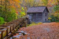 Mingus Mill on a Fall Afternoon