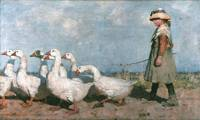 To Pastures New by James Guthrie, 1883.