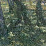 """Undergrowth Saint-Rémy-de-Provence, July 1889 Vinc"" by motionage"
