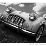 """Triumph TR2 BW"" by Automotography"