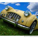 """Triumph TR2 color"" by Automotography"