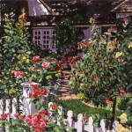 """COUNTRY ROSE COTtAGE fa"" by DavidLloydGlover"