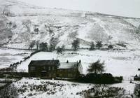 Peak District Snow Scene