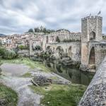 """besalu-medieval-city-catalonia"" by mgarrido"