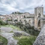 """besalu-medieval-city-catalonia"" by mgarrido"