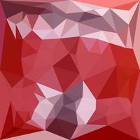 Pale Violet Red Abstract Low Polygon Background