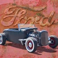 1932 Ford Hot Rod Roadster Art Prints & Posters by Ron Long