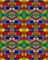 Psycedellic Pattern  - All-Over - 2