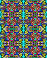 Psycedellic Pattern  - All-Over