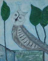 Owl on Wall