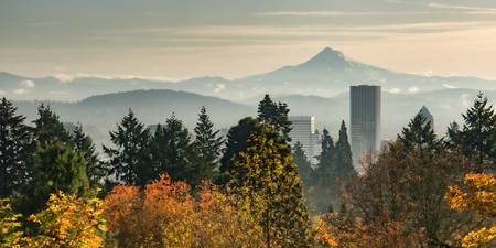 Portland in Autumn