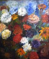 Flowers after Monet