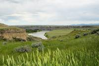Fort Benton Missouri River overlook