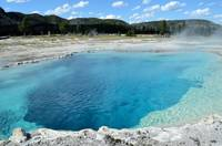 Yellowstone Deep blue