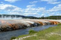 Yellowstone rainbow color