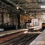 """Edinburgh, Scotland, Wearverly Station 108"" by Wintercreeks"
