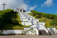 Chapel in Azores islands