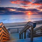 """Sunrise-at-Nauset-Light-Beach-Cape-Cod-National-Se"" by dapixara"