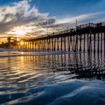 """Reflections at Oceanside Pier"" by Michele"