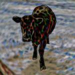 """Pop Art Calf"" by diane"