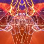 """Abstract Light Streaks #309"" by nawfalnur"