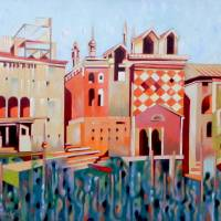 Memory of Venice Art Prints & Posters by federico cortese