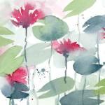 """Water Lilies"" by k9artgallery"