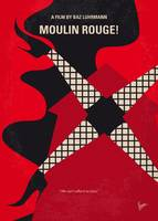 No713 My Moulin Rouge minimal movie poster