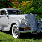 """1934 Pierce 840A Silver Arrow Coupe"" by FatKatPhotography"