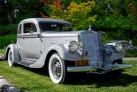 1934 Pierce 840A Silver Arrow Coupe