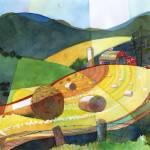 """shenandoah-haystacks"" by DavidRalph"