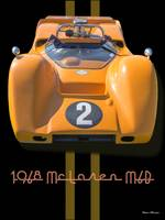 1968 McLaren M6B Can Am Race Car