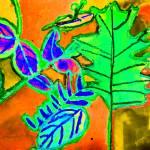 """Bright Falling Leaves"" by KsWorldArt"
