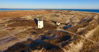 Wood End Lighthouse Aerial