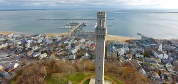 Provincetown, Cape Cod Aerial