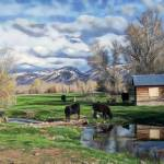 """""""IdylicCattlePasture100_0137"""" by diane"""