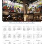 """""""El Mercado Paceo Caribe Calendar 2017"""" by galina"""